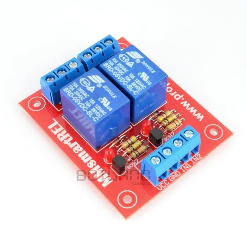 Moduł przekaźnika SRD-05 z izolacją optoelektroniczną