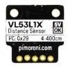 Pimoroni VL53L1X Time of Flight - czujnik odległości I2C - zdjęcie 3