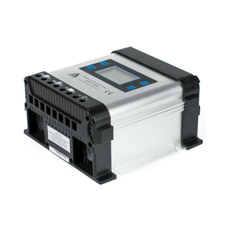 Solarny regulator ładowania AZO Digital MPPT 12/24 - 20A z wyświetlaczem LCD