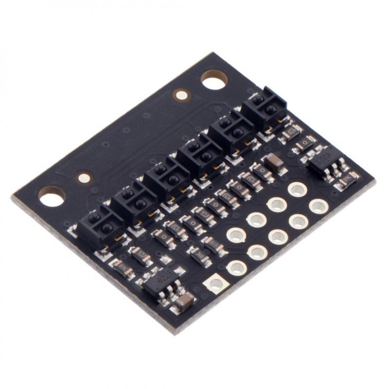 Listwa z czujnikami odbiciowymi QTRX-HD-06A - analogowa