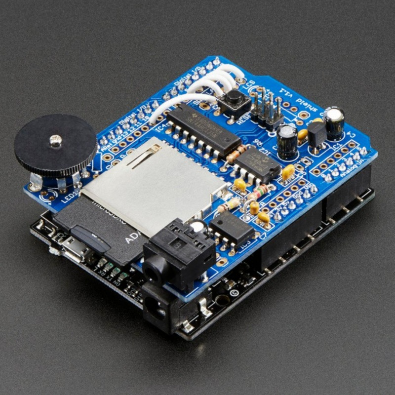 Adafruit Wave Shield Kit dla Arduino