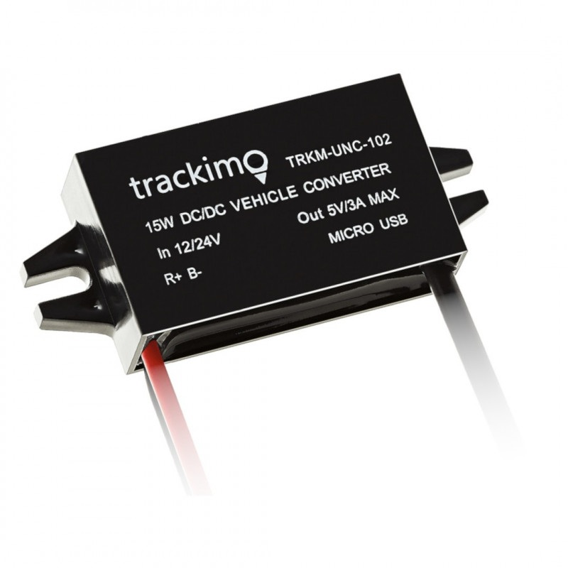 KONWERTER 12/24V - do lokalizatora Trackimo Optimum / Guardian