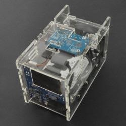 CloudShell 2 Case 2 dla Odroid XU4 - elementy do budowy serwera plików NAS - przezroczysty