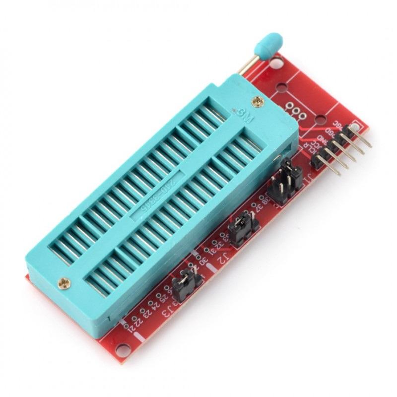 Uniwersalny moduł do programowania z podstawką ZIF 40-pin
