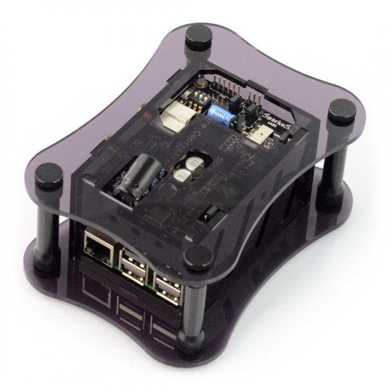 Obudowa Raspberry Pi 3B+/3B/2B i do Katana DAC - czarna