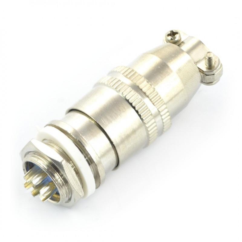 Złącze przemysłowe ZP2 z szybkozłączem - 6-pinowe