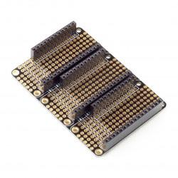 Particle - FeatherWing Tripler - płytka prototypowa dla zestawów Particle