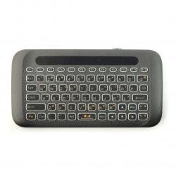 Klawiatura bezprzewodowa Smart H20 klawiatura + mysz - czarna