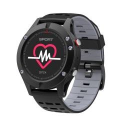 SmartWatch NO.1 F5 - czarny - inteligentny zegarek sportowy