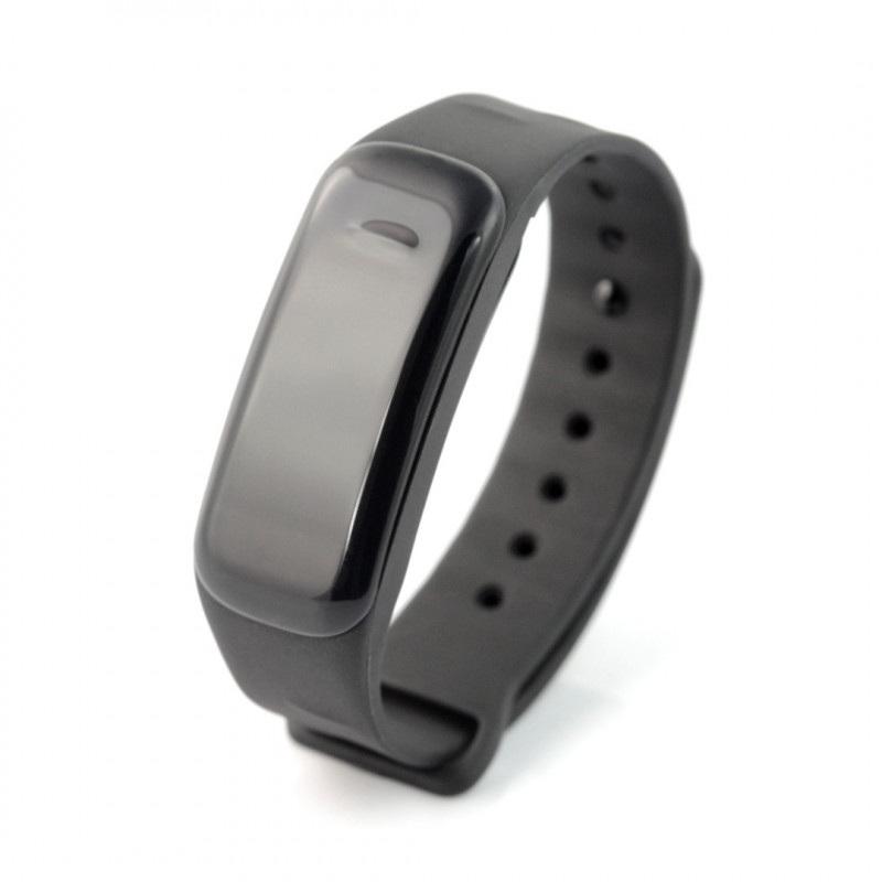 Smartband ART Hanksfit S-FIT18 - inteligentna opaska - czarny