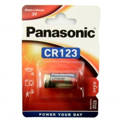 Bateria litowa Panasonic - CR123 3V