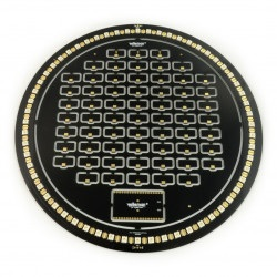 Velleman Bright Clock kit - zegar LED ESP32 - czarny
