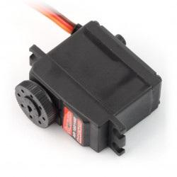 Serwo PowerHD AR-1201MG praca ciągła 360 stopni z obustronnym mocowaniem