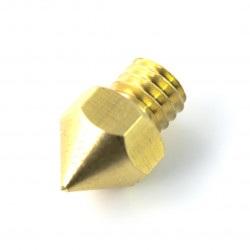 Dysza 1mm MK8 - filament 1,75mm - miedź