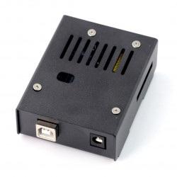 Obudowa do Arduino Uno - metalowa czarna