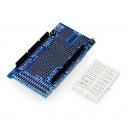 Arduino Mega Proto Shield v3.0 + płytka stykowa 170 otworów
