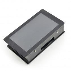 Obudowa do Raspberry Pi i dedykowanego ekranu dotykowego 7'' - czarna
