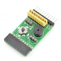 Płytka rozszerzeń - IR, joystick, buzzer, czujnik temperatury