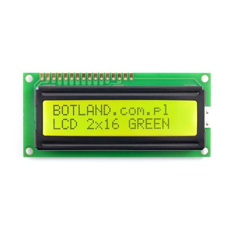 Wyświetlacz LCD 16x2