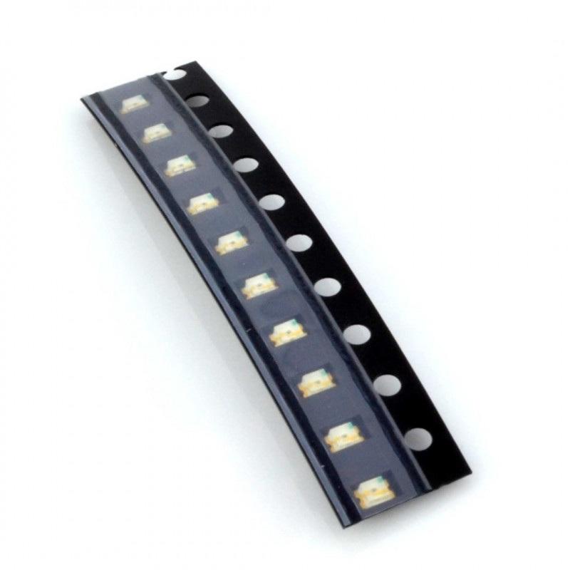 Dioda LED smd 0805  niebieska - 10 szt.