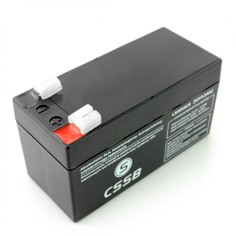 Akumulator żelowy 12V 1.2Ah ST
