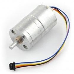 Silnik bezszczotkowy z przekładnią 25Dx43L 45:1 ze sterownikiem PWM + enkoder