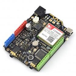 GSM/GPRS/GPS SIM808 z płytką główną Arduino Leonardo