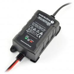 Ładowarka, prostownik CBC-1 do akumulatorów żelowych / AGM / kwasowo-ołowiowych 6V/12V - 1A