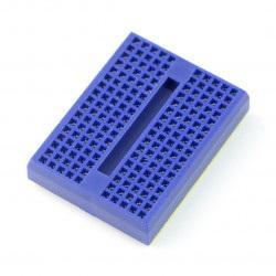 Płytka stykowa - 170 otworów - niebieska