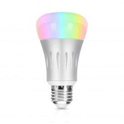 Coolseer COL-BL01W - inteligentna żarówka LED RGBW WiFi E27, 7W, 600lm