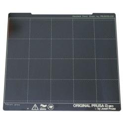 Płyta ze stali sprężynowej - dla drukarek Prusa MK3/MK3S - gładka