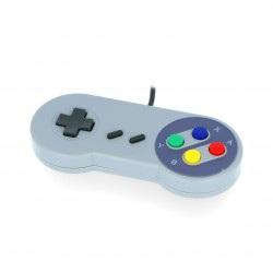 PiHut SNES - retro kontroler USB do gier - zgodny z Raspberry Pi