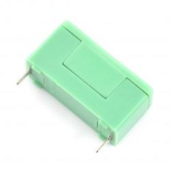 Złącze bezpiecznika z osłoną PTF-78 5x20mm - zielone