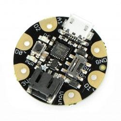 Adafruit GEMMA - miniaturowa platforma z mikrokontrolerem Attiny85 3,3V