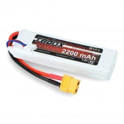 Pakiet LiPol Redox 2200mAh 20C 2S 7.4V