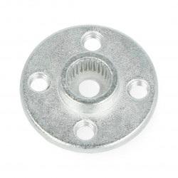 Aluminiowy okrągły orczyk - 2cm / 6mm
