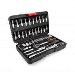 Zestaw narzędziowy Stahlbar KL-17023 klucze nasadowe - 45 elementów