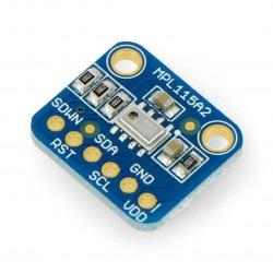 MPL115A2 - cyfrowy barometr, czujnik ciśnienia/wysokości 1150hPa I2C - moduł Adafruit