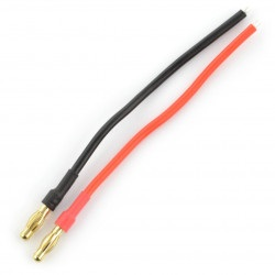 Para męskich konektorów Gold - 4 mm