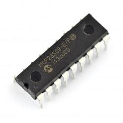 MCP23S08-E/P - ekspander wyprowadzeń SPI 8-kanałowy