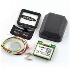 Moduł GPS z obudową - DFrobot