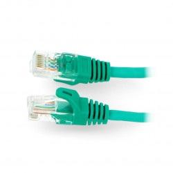 Przewód sieciowy Ethernet Patchcord UTP 5e 0,5 m - zielony