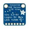 Adafruit TCS34725 - czujnik koloru RGB z filtrem IR I2C - zdjęcie 4