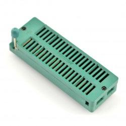 Podstawka testowa ZIF 40pin raster 15,24mm