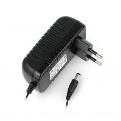 Zasilacz impulsowy MW Power EB2412 12V/2A - wtyk DC 5,5/2,1mm