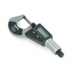 Mikrometr z wyświetlaczem cyfrowym Yato YT-72305 - 0-25mm
