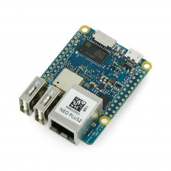 NanoPi NEO Plus2 - Allwinner H5 Quad-Core 1GHz + 1GB RAM + 8GB eMMC