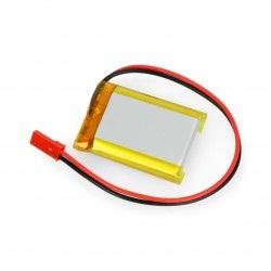 Akumulator Li-Pol Akyga 1000mAh 1S 3,7V - złącze JST-BEC + gniazdo 40x30x8mm