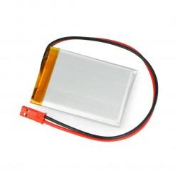 Akumulator Li-Pol Akyga 680mAh 1S 3.7V - złącze JST-BEC + gniazdo