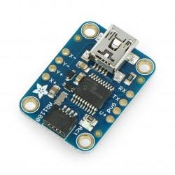 Kontroler rezystancyjnych ekranów dotykowych AR1100 - moduł Adafruit